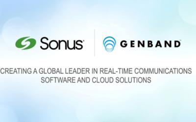 Sonus & GENBAND Combine To Create Global RTC Leader